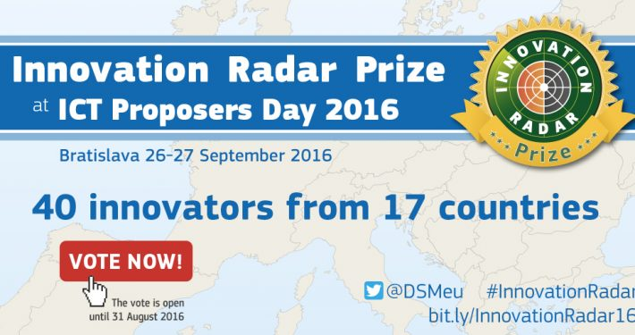 Innovation Radar Prize ICT Proposers Day 2016 1024x512